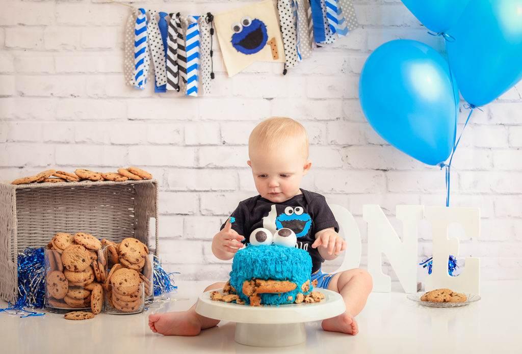 Cake Smash - Cookie Monster